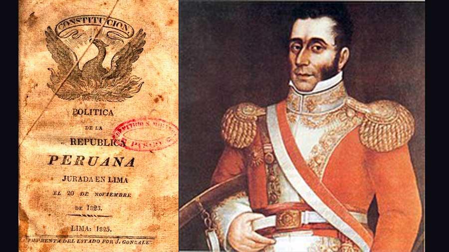 Primera Constitución del Perú