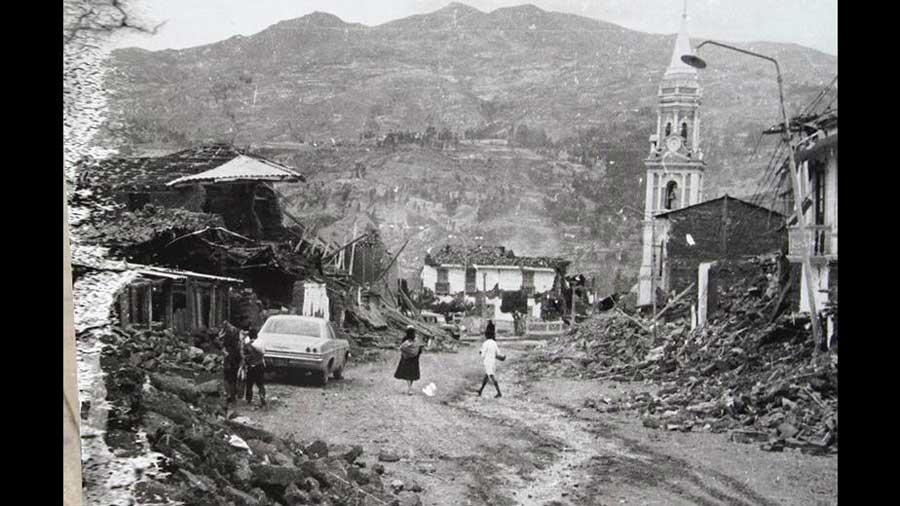 Qué pueblos fueron sepultados por un alud durante el terremoto de 1970