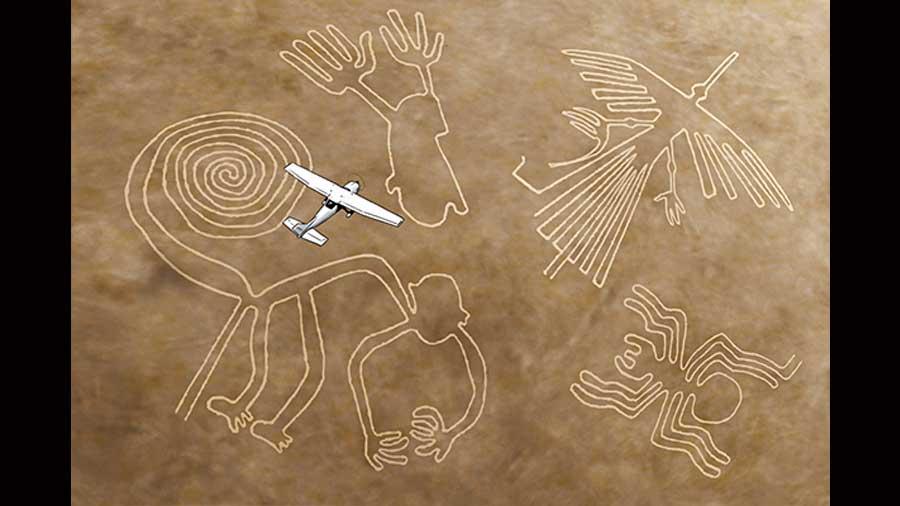 Quién descubrió las líneas de Nazca