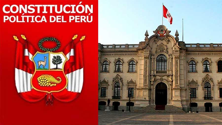constituciones políticas que ha tenido el Perú