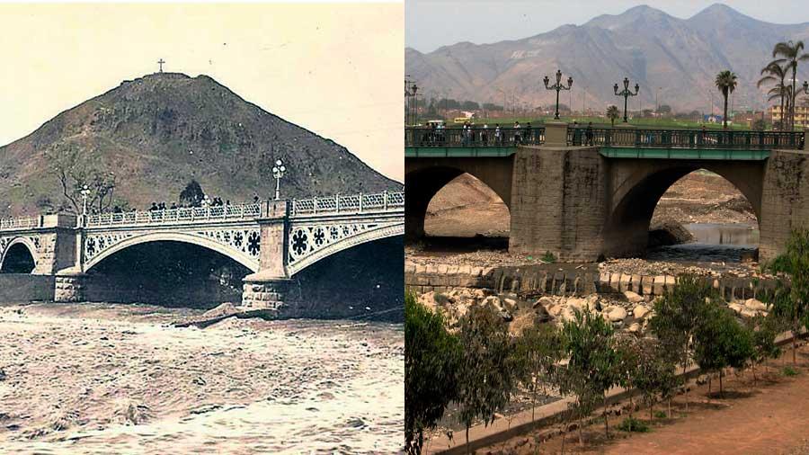 puentes antiguos se usan todavía en Lima
