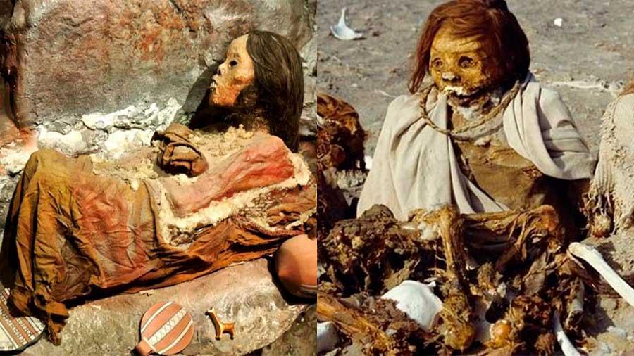 sacrificios humanos en el Imperio incaico